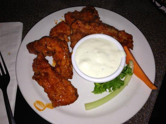 Buffalo Chicken Fingers, Beantown Pub, Boston