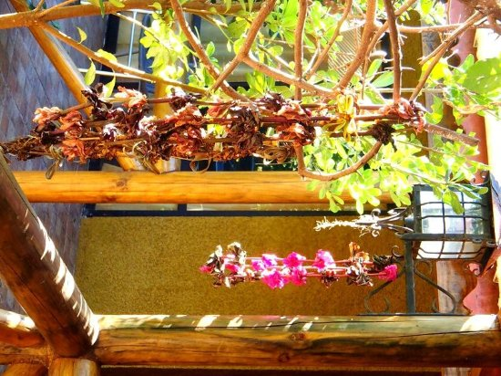 Chez Jerome : L'accueil polynésien : le collier de fleurs !