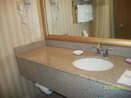 Best Western Plus Landmark Inn: Bathroom sink