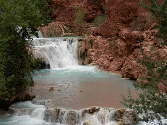 Havasu Falls Campground: Beaver Falls Supai, AZ