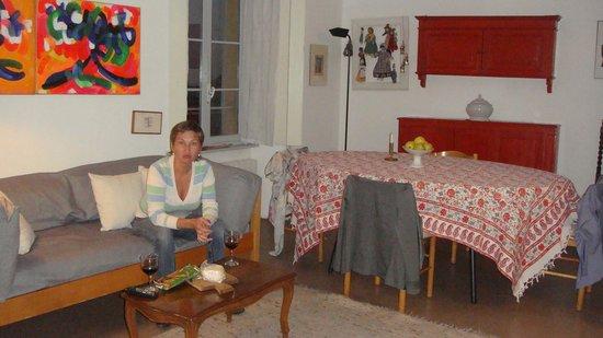 Casa Gandini Bed & Breakfast: гостиная