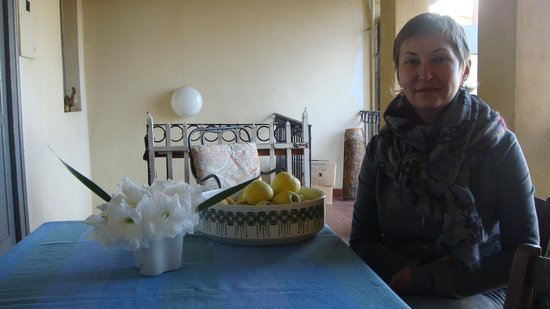 Casa Gandini Bed & Breakfast: веранда