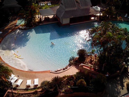 Novotel Cairns Oasis Resort: Pool view 6th Floor