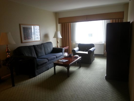 George Washington University Inn : Living Room Area