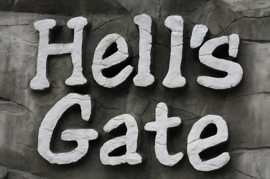 Hells Gate: yep youre in h...