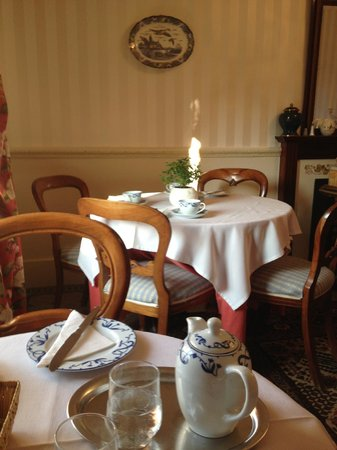 Villa Fleurie : завтрак