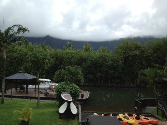 Paradise Bay Resort Hawaii: mountain view