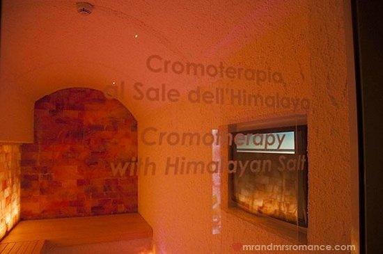 BEST WESTERN PLUS Hotel Galles: Best Western Hotel Galles Milan Himalayan salt room chromotherapy