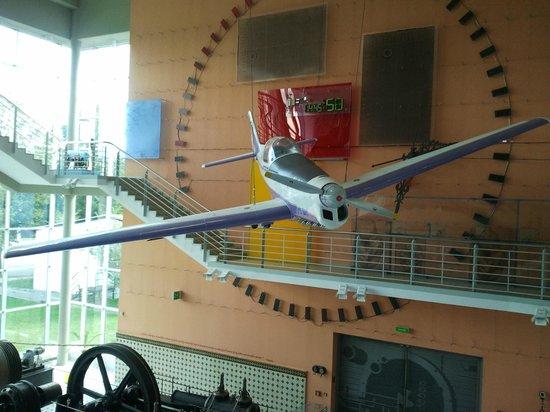 Brno Technical Museum: Зал с паровыми машинами
