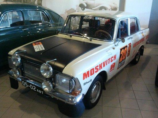 Brno Technical Museum: Москвич!!