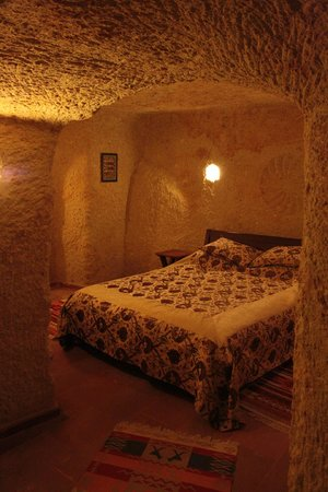 Hotel Cave Konak : Bedroom at Hetite suite