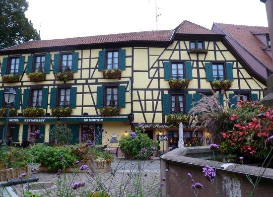 Hôtel-Restaurant du Mouton: une vue de l'hotel du mouton