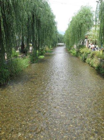 Eco and Tec Kyoto : A short walk away - gorgeous stream