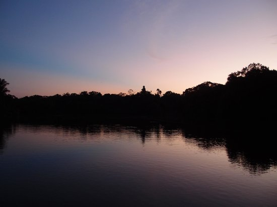 Abundancia Amazon Eco Lodge: Awesome sunsets
