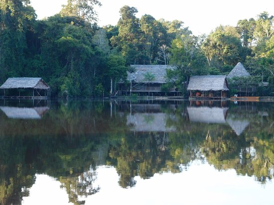 Abundancia Amazon Eco Lodge: The lodge