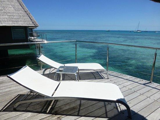 L'Escapade Island Resort: Deck view