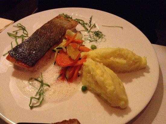 Le Marcab : Saumon grillé