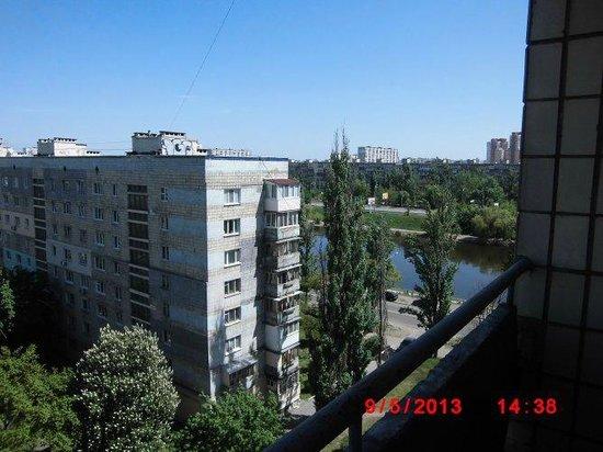 Slavutych Hotel: вид во двор