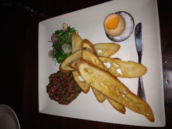 Farmstead at Long Meadow Ranch : Steak Tartare... My new favorite Farmstead dish