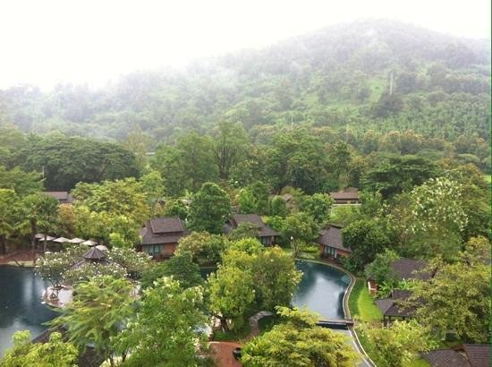 Sibsan Resort & Spa Maetaeng: nice view from the observation deck.