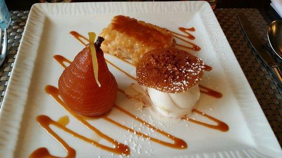 Le P'tit B : Dessert risotto