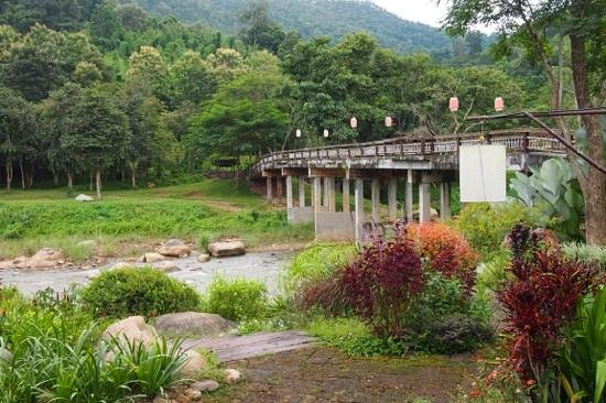 Sibsan Resort & Spa Maetaeng: View from Pont Cafe