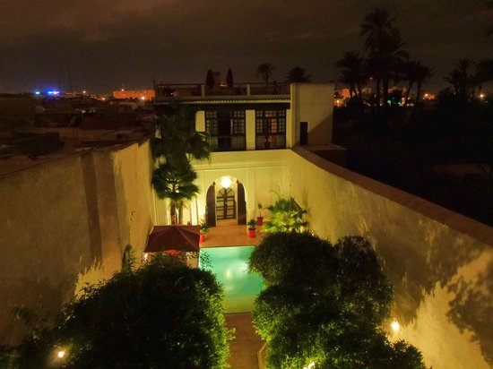 Riad Charai: Riad by Night