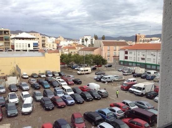 Ibis budget Malaga Centro: arnaque au parking et vue de l'hotel