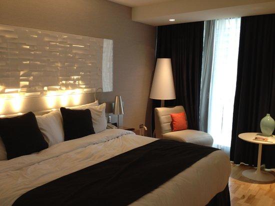 Radisson Blu Aqua Hotel: The room!