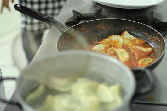 La Rustica Cucina Italiana : Pesto Gnocchi