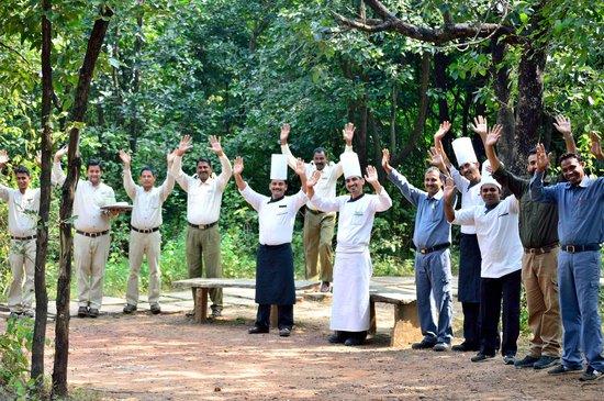 Pashan Garh: The camp greeting