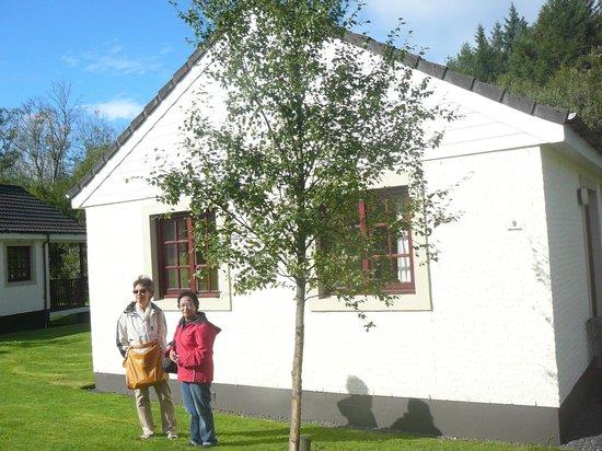 Brunston: Side of cottage fronting access road