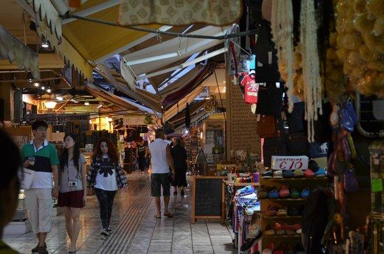 Atrion Hotel : iraklion market