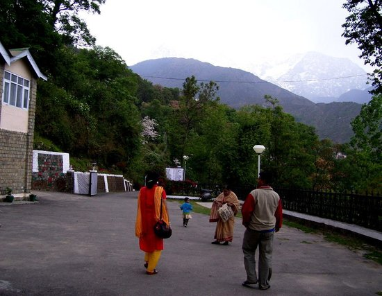 View from PWD REST HOUSE DHARAMSALA