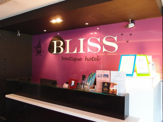 Bliss Boutique Hotel: Lobby