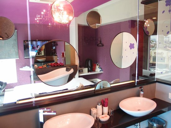 Bliss Boutique Hotel: Washing Area
