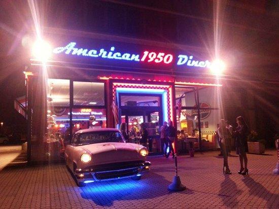 1950 American Diner: Il ristorante