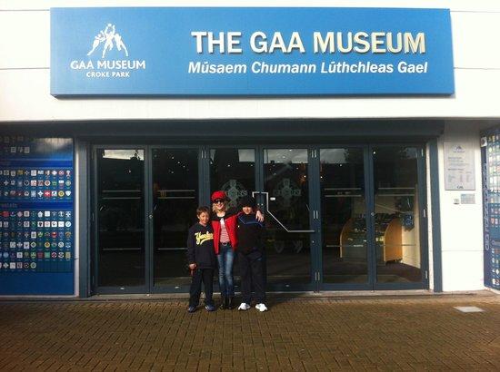 Croke Park Stadium Tour & GAA Museum: museum entrance & reception