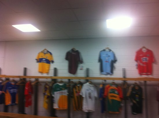 Croke Park Stadium Tour & GAA Museum: players changing room