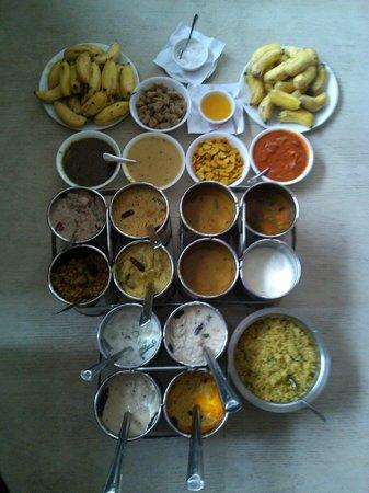 Hotel Sagar : Plenty