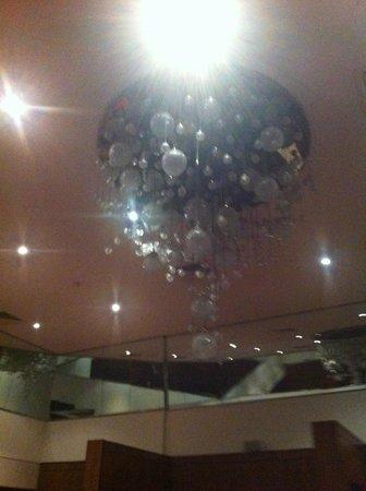 Croke Park Stadium Tour & GAA Museum: waterford crystal chandelier representing the 32 irish counties, plus London & New York!