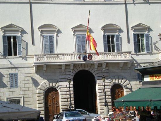 Rome, Italy: Embajada española en Roma