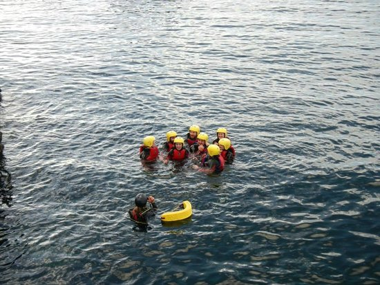 Delphi Resort: Coasteering