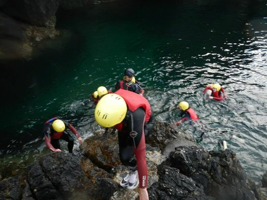 Delphi Resort : Coasteering