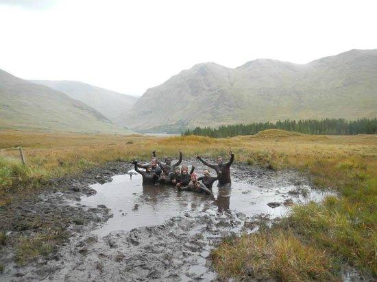Delphi Resort: Happy out in the bog