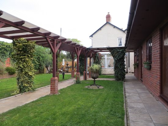 Brandon Lodge: Hotel Garden