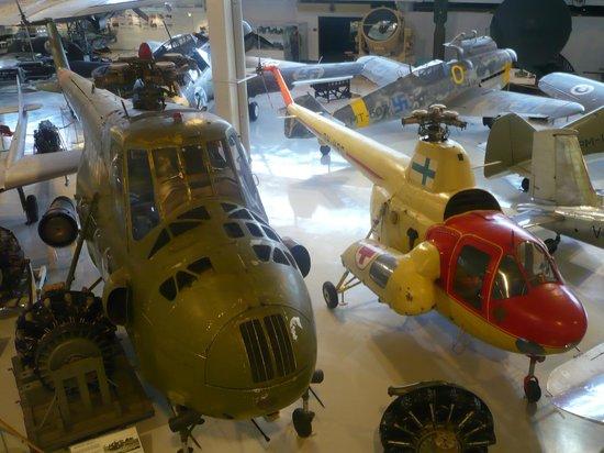 Suomen Ilmavoimamuseo: Helicopteres are here too