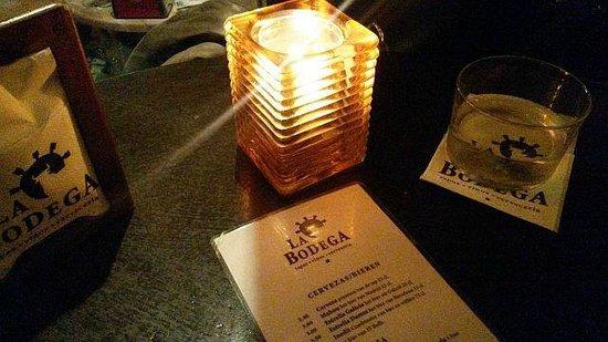 La Bodega: menu