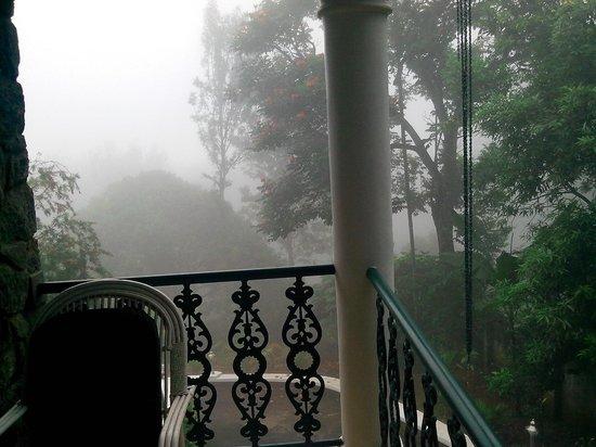 Chithirapuram Palace: view from room
