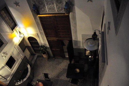 Riad Boujloud: le patio intérieur